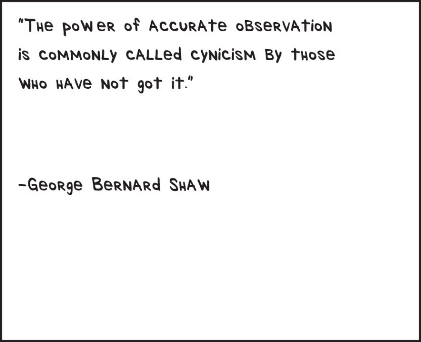 accurateobservation_georgebernardshaw